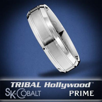 EPSILON PRIME Ring SK Cobalt Men's Wedding Band by Scott Kay