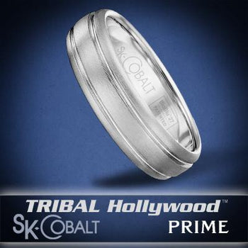 ZETA PRIME Ring SK Cobalt Men's Wedding Band by Scott Kay
