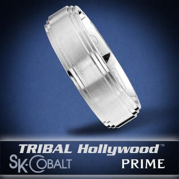 ALPHA PRIME Ring SK Cobalt Men's Wedding Band by Scott Kay