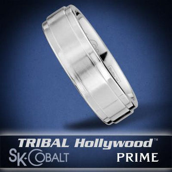 THETA PRIME Ring SK Cobalt Men's Wedding Band by Scott Kay