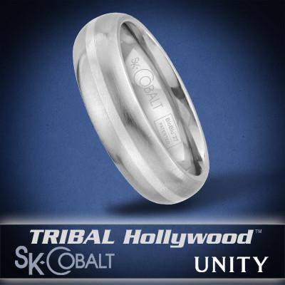 SINGULAR UNITY Ring SK Cobalt Men's Wedding Band by Scott Kay
