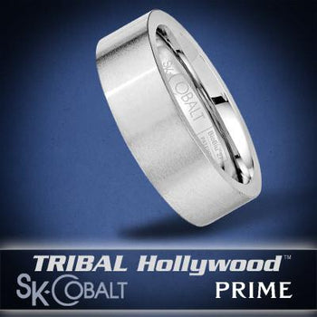 ETA PRIME Ring SK Cobalt Men's Wedding Band by Scott Kay