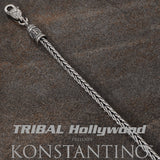 Konstantino LARGE HERRINGBONE Sterling Silver Mens Necklace Chain