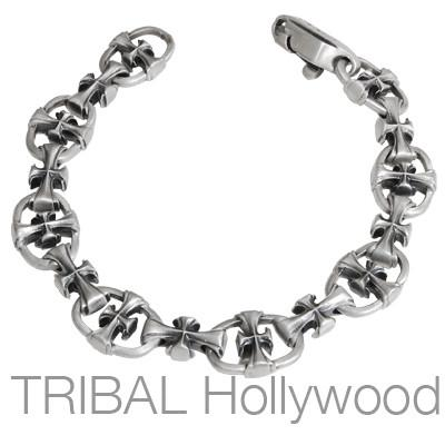 THE PASSION Silver Link Bracelet by Bico Australia