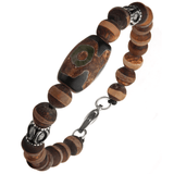 TRANSCENDED BRACELET Stone Bead Meditation Bracelet for Men