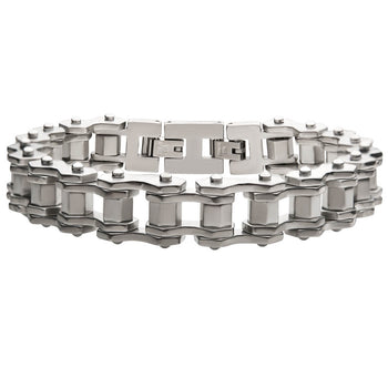 MOTORCADE Bike Chain Bracelet for Men in Stainless Steel