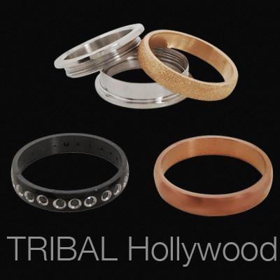 VARIETY MIX AND MATCH Interchangeable Stainless Steel Mens Rings