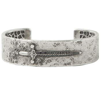 John Varvatos BLACK DIAMOND LONGSWORD CUFF Bracelet for Men