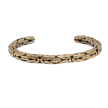 John Varvatos BRASS BYZANTINE CUFF Bracelet for Men