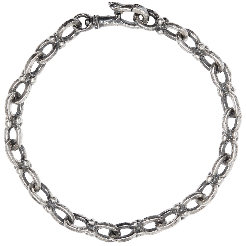 John Varvatos SILVER ANCHOR LINK Bracelet for Men