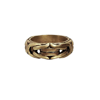 John Varvatos BRASS BYZANTINE RING for Men