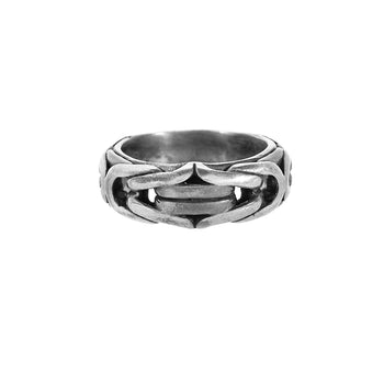 John Varvatos BYZANTINE RING Sterling Silver Ring for Men