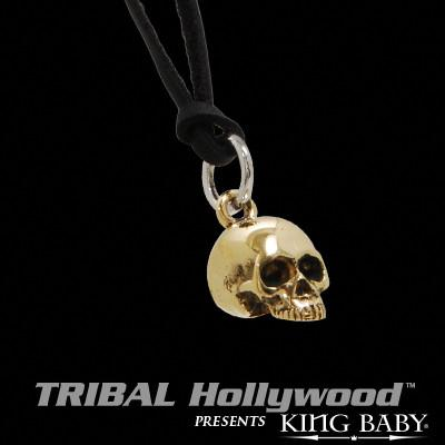 HAMLET SKULL SMALL Alloy Pendant Necklace by King Baby Studio