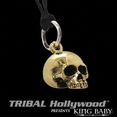 HAMLET SKULL Alloy Pendant Necklace by King Baby Studio
