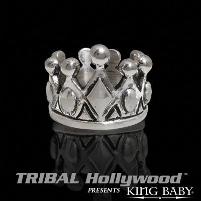 ROYAL CROWN Ring in Sterling Silver by King Baby
