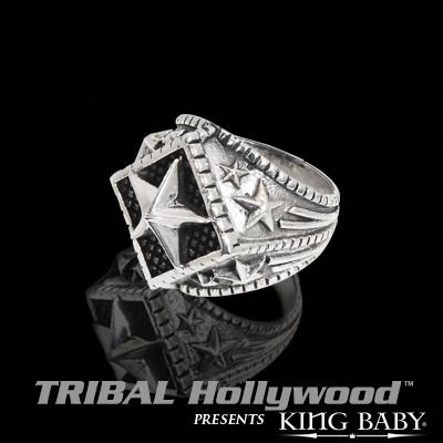 ALL-STAR Sterling Silver Ring for Men by King Baby