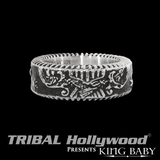 USA EAGLE RING in Sterling Silver by King Baby