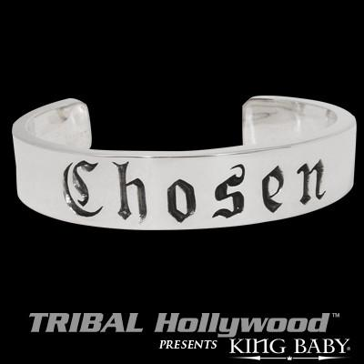 CHOSEN Sterling Silver Wrist Cuff by King Baby