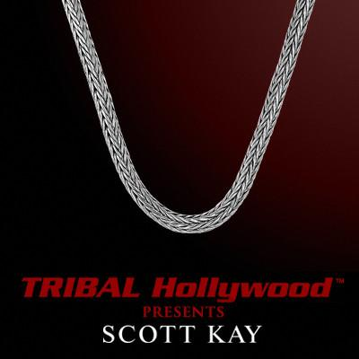 KODIAK 3mm Scott Kay Sterling Silver Men's Rope Chain