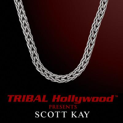 Silver chains for men tribal hollywood doberman 3mm scott kay mens sterling silver chain necklace aloadofball Gallery