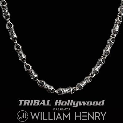 Mens sterling silver chains tribal hollywood william henry ardent sterling silver hammered link necklace chain for men aloadofball Images