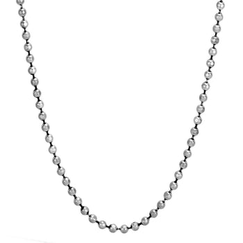 Thin Width Sterling Silver Ball Chain by John Hardy