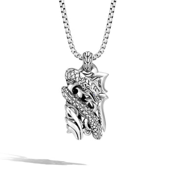 Naga Dragon Kerris Dagger Dog Tag Pendant Necklace by John Hardy