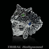 THE HUNTER RING Native American Warrior Mens Ring from Ecks