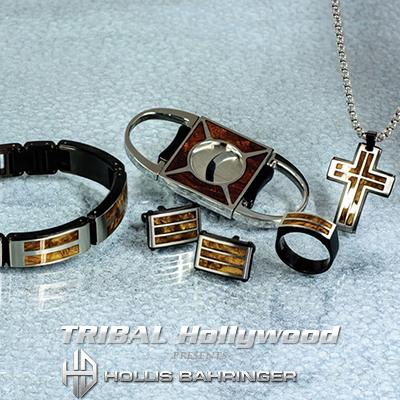 Hollis Bahringer PALISANDER COLLECTION in Stainless Steel and Rosewood