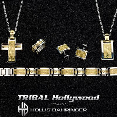 Hollis Bahringer AUREM COLLECTION with Gold Steel and Real Diamonds