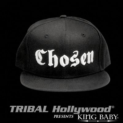 CHOSEN HAT Black Mens Ball Cap by King Baby Studio | Tribal Hollywood