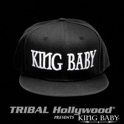 Mens Ball Cap KING BABY HAT Black by King Baby Studio | Tribal Hollywood