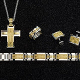 Hollis Bahringer Aurem Gold Steel and Diamond Collection