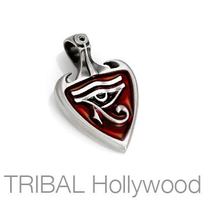 PHAROAH Eye of Horus Egyptian Heiroglyph Necklace Pendant by BICO Australia | Tribal Hollywood