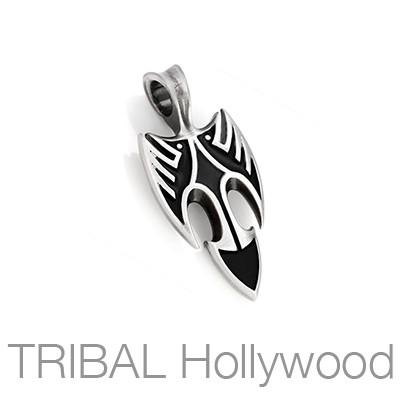Blackbird Raw Speed Mens Tribal Necklace Pendant by Bico