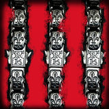 Konstantino Wine Barrel Silver Beads Mens Leather Bracelet Close-up Red