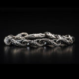 William Henry Anchor Link Sterling Silver Mens Bracelet 1