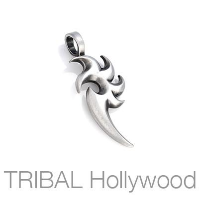 Bico Thunderbird Leader Symbol Mens Tribal Necklace Pendant