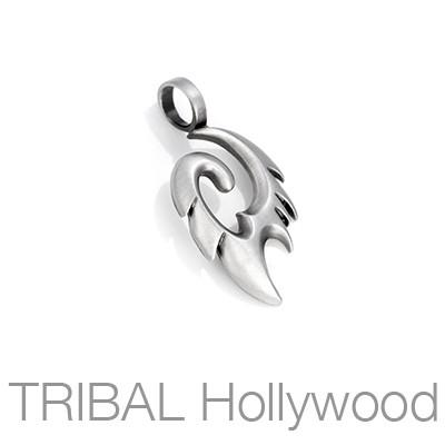 Pyro Fire of Inspiration Mens Tribal Pendant Small by Bico