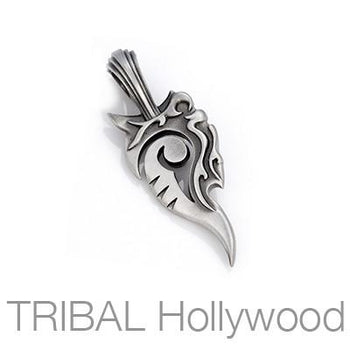 WYATT Tribal Tattoo Necklace Pendant by Bico Australia