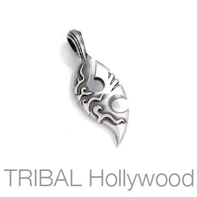 Bico Thylacine Wild Mysterious Spirit Mens Necklace Pendant