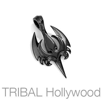 AEGIS Spiked Bird Necklace Pendant in Gunmetal by Bico Australia