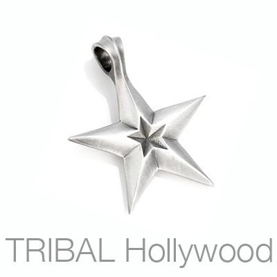 Plasmata Star of Energy Mens Star Necklace Pendant by Bico