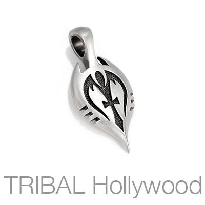 Shah Leadership Symbol Mens Tribal Necklace Pendant by Bico