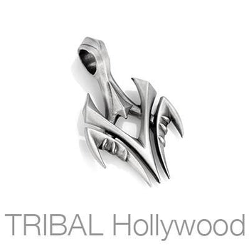 Bico Reaper Soul Guider Tribal Blade Mens Necklace Pendant