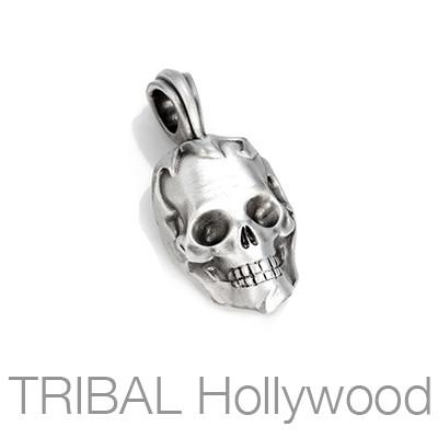 Bico Napoleons Ghost Devotion Mens Skull Necklace Pendant