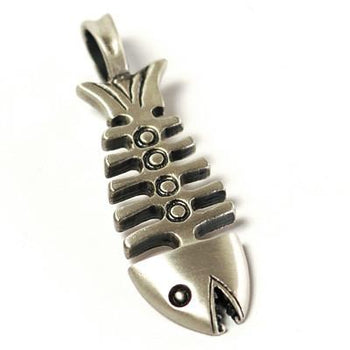 THE FISH Silver Friendship Pendant