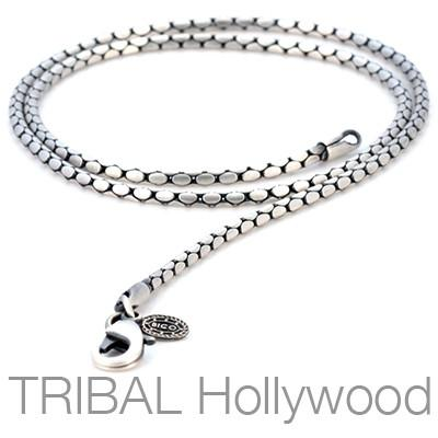 LUCKY STRIKE Silver Chain | Tribal Hollywood