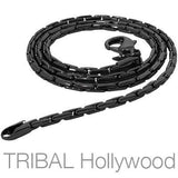 BODY ENGLISH Chain in Gunmetal | Tribal Hollywood