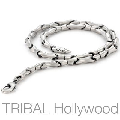 BIONICA Link Chain Silver Necklace by Bico Australia | Tribal Hollywood